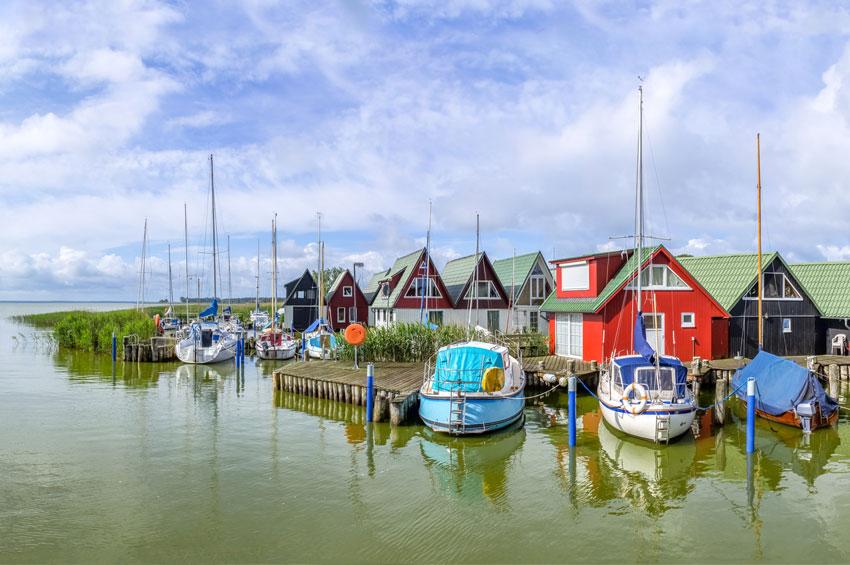 Althäger Hafen in Ahrenshoop