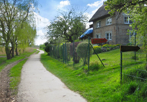 Altes Backhaus Zufahrt